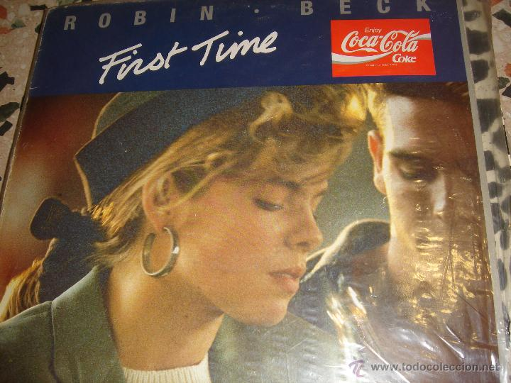 ROBIN BECK FIRST TIME COCA COLA LP (Música - Discos de Vinilo - EPs - Pop - Rock Extranjero de los 70	)