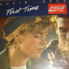Discos de vinilo: ROBIN BECK FIRST TIME COCA COLA LP. Lote 46928169