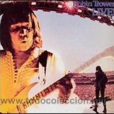 Discos de vinilo: ROBIN TROWER - LIVE!. Lote 46928564