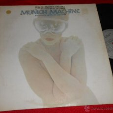 Discos de vinilo: MUNICH MACHINE CON SU BLANCA PALIDEZ A WHITER SHADE OF PALE LP 1978 ESPAÑA SPAIN MORODER DISCO FUNK. Lote 46931473