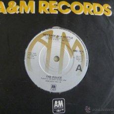 Discos de vinilo: THE POLICE -MESSAGE IN A BOTTLE -SINGLE 1979. Lote 46937224