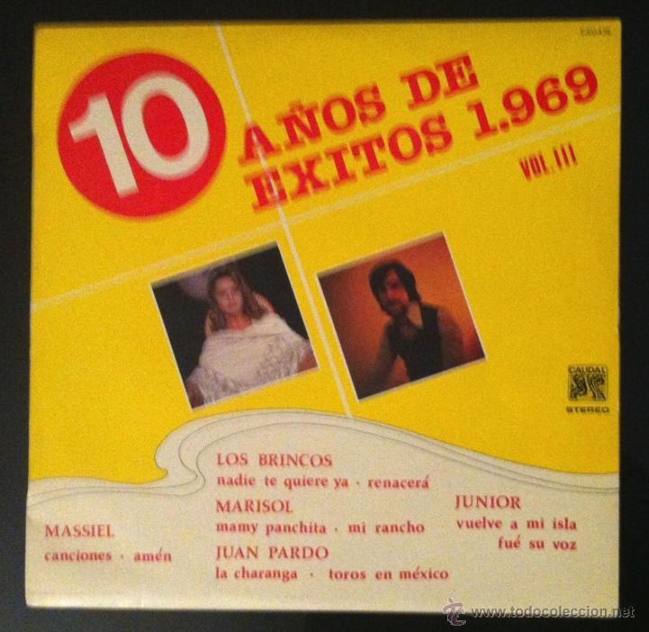 MARISOL, MASSIEL, JUAN PARDO, LOS BRINCOS, JUNIOR (Música - Discos - LP Vinilo - Solistas Españoles de los 50 y 60)