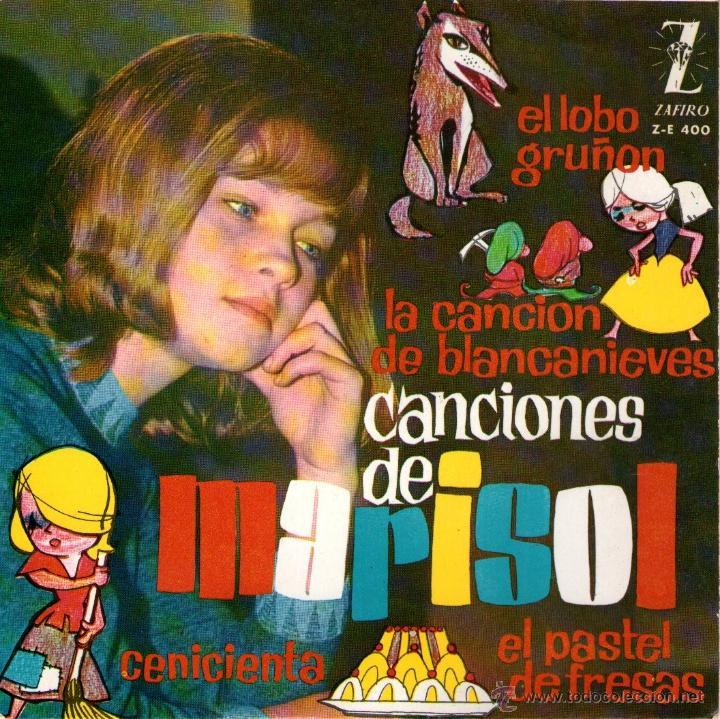 MARISOL - EP SINGLE VINILO 7'' - EL LOBO GRUÑÓN + 3 - EDITADO EN ESPAÑA - ZAFIRO - 1963 (Música - Discos de Vinilo - EPs - Solistas Españoles de los 70 a la actualidad)