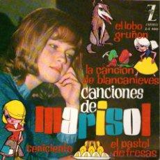 Discos de vinilo: MARISOL - EP SINGLE VINILO 7'' - EL LOBO GRUÑÓN + 3 - EDITADO EN ESPAÑA - ZAFIRO - 1963. Lote 46941088