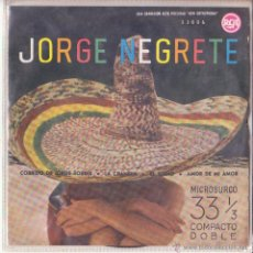 Discos de vinilo: JORGE NEGRETE NEW ORTHOPHONIC 33006 RCA 1961 CORRIDO DE JORGE TORRES + 3 COMPACTO DOBLE MICROSURCO . Lote 46947028