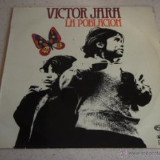 Discos de vinilo: VICTOR JARA – LA POBLACIÓN SPAIN,1973 MOVIEPLAY. Lote 46949111