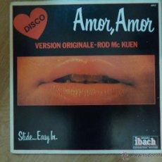 Discos de vinilo: *** ROD MC KUEN - SLIDE... EASY IN. (AMOR AMOR) - LP AÑO 1977 - MADE IN FRANCE - GATEFOLD. Lote 46951149
