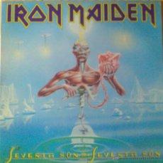 Discos de vinilo: IRON MAIDEN SEVENTH SON OF A SEVENTH SON LP VINILO. Lote 46951515