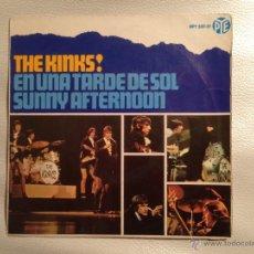 Discos de vinilo: THE KINKS EP - 1966 - UNA TARDE DE SOL + 3. Lote 46951563