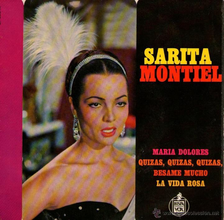 SARA MONTIEL - EP SINGLE VINILO - EDITADO EN FRANCIA - MARIA DOLORES + 3 - HISPAVOX 1964 (Música - Discos de Vinilo - EPs - Solistas Españoles de los 70 a la actualidad)