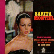 Discos de vinilo: SARA MONTIEL - EP SINGLE VINILO - EDITADO EN FRANCIA - MARIA DOLORES + 3 - HISPAVOX 1964. Lote 46952248