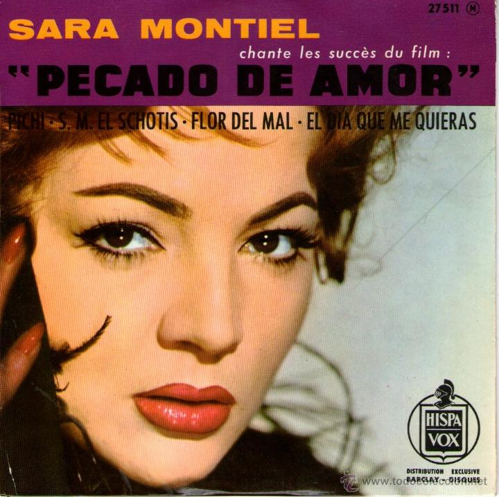 SARA MONTIEL - EP SINGLE VINILO - EDITADO EN FRANCIA - PICHI + 3 - HISPAVOX 1962 (Música - Discos de Vinilo - EPs - Solistas Españoles de los 70 a la actualidad)