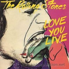 Discos de vinilo: THE ROLLING STONES - LOVE YOU LIVE. Lote 46953133
