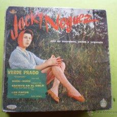 Discos de vinilo: JACKY NOGUEZ... VERDE PRADO + 3... EP.. Lote 46954481