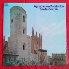 Discos de vinilo: AGRUPACION FOLKLORICA SALTA CECILIA (JOTAS) (LP). Lote 46959651