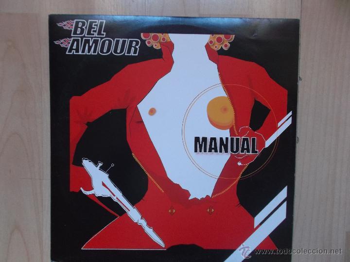 BEL AMOUR - MANUAL - (Música - Discos de Vinilo - Maxi Singles - Otros estilos)