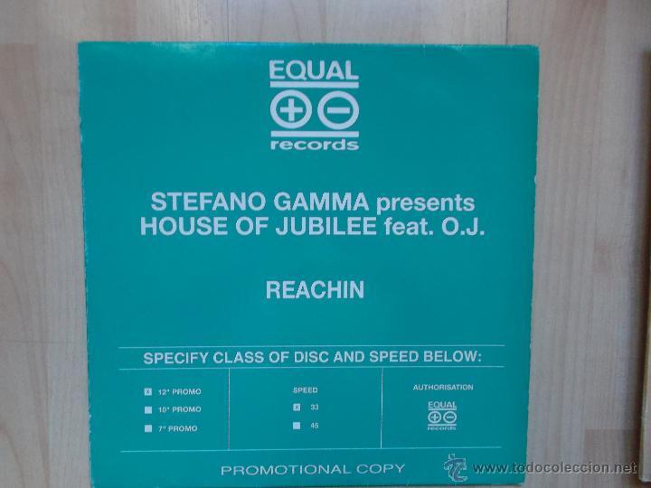 STEFANO GAMMA PRESENTS HOUSE OF JUBILEE FEAT O.J PROMOCIONAL (Música - Discos de Vinilo - Maxi Singles - Otros estilos)