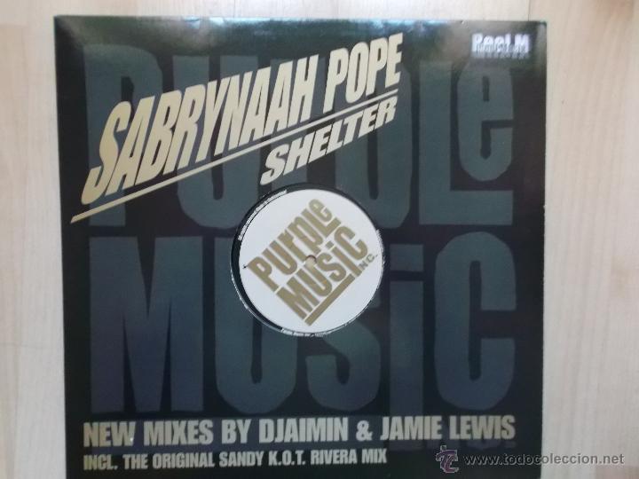 SABRYNAAH POPE SHELTER PURPLE MUSIC (Música - Discos de Vinilo - Maxi Singles - Otros estilos)
