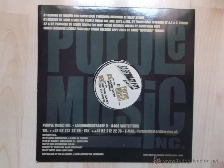 Discos de vinilo: SABRYNAAH POPE SHELTER PURPLE MUSIC - Foto 2 - 46960160