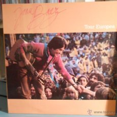 Discos de vinilo: JOAN BAEZ - TOUR EUROPEA. Lote 46965995