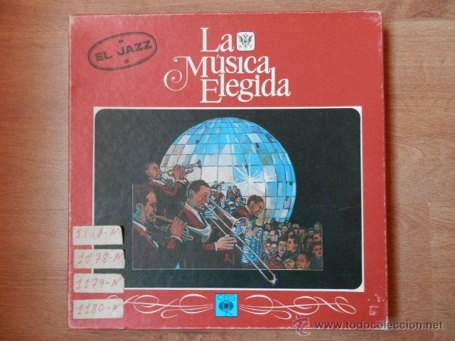 LA MÚSICA ELEGIDA/EL JAZZ - DIVERSOS AUTORES (Música - Discos - LP Vinilo - Jazz, Jazz-Rock, Blues y R&B)