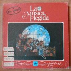 Discos de vinilo: LA MÚSICA ELEGIDA/EL JAZZ - DIVERSOS AUTORES. Lote 46967672