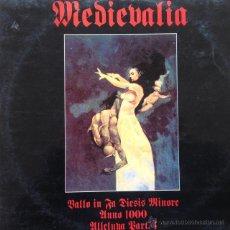Discos de vinilo: MEDIEVALIA - BALLO IN FA DIESES MINORE . MAXI SINGLE . 1994 AREA INTERNATIONAL - AI-013. Lote 46970440