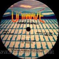 Discos de vinilo: PIERRE PERPALL - LEADING LOVER / U-TURN (MAXI). Lote 46971270
