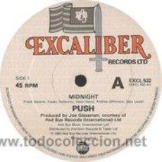 Discos de vinilo: PUSH - MIDNIGHT (MAXI) . Lote 46971387