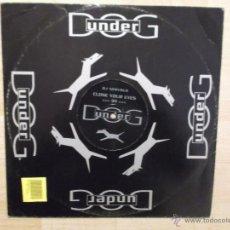 Discos de vinilo: DJ NERVUS CLOSE YOUR EYES 1999. Lote 46972272