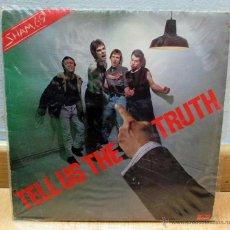 Discos de vinilo: SHAM 69 LP DISCO VINILO TELL US THE TRUTH 1978. Lote 46972630
