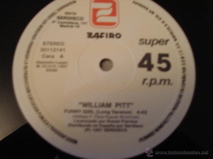 Discos de vinilo: WILLIAM PITT - FUNNY GIRL - Foto 3 - 46972631