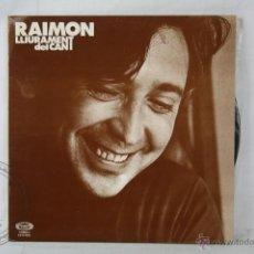 Discos de vinilo: DISCO LP VINILO - RAIMON. LLURAMENT DEL CANT - MOVIE PLAY RECORDS - ESPAÑA 1977. Lote 46973348