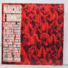 Discos de vinilo: DISCO LP VINILO - MARCHAS E HIMNOS. COMANDANTE DORADO - COLUMBIA RECORDS - ESPAÑA 1969. Lote 46973596