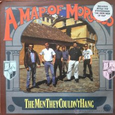 Discos de vinilo: THE MEN THEY COULDN'T HANG - A MAP OF MOROCCO . MAXI SINGLE . 1989 SILVERTONE RECORDS UK ORE X 14 . Lote 46976166