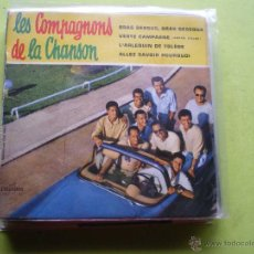 Discos de vinilo: EP DE LES COMPAGNONS DE LA CHANSON ... BRAS DESSUS, BRAS DESSOUS + 3 .** COLUMBIA - AÑOS 60 . Lote 46977342