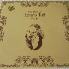 Discos de vinilo: JETHRO TULL - VOL III - LP - CHRYSALIS 1981 SPAIN. Lote 46978043