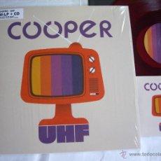 Discos de vinilo: COOPER MLP + CD UHF POP MOD FLECHAZOS ED.NUMERADA 750 EJ.Y DESCATALOGADA EN 4 DÍAS MINT. Lote 46978385