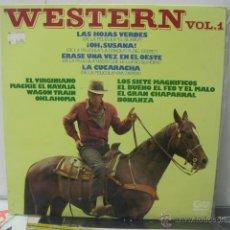 Discos de vinilo: WESTERN VOL.1 - LAS HOJAS VERDES + 11 - GRAMUSIC 1976. Lote 46978764