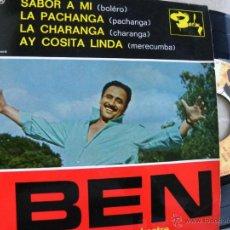 Discos de vinilo: BEN SA TUMBA ET SON ORCHESTRE -EP -PEDIDO MINIMO 3 EUROS. Lote 46979694