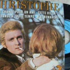 Discos de vinilo: CHRISTOPHE -EP -EDIC. FRANCESA. Lote 46979919