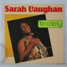 Discos de vinilo: DISCO LP VINILO - SARAH VAUGHAN. TENDERLY - ASTAN RECORDS - MADE IN WEST GERMANY 1984. Lote 46984710