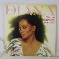 Discos de vinilo: DISCO LP VINILO - DIANA ROSS. WHY DO FOOLS FALL IN LOVE - CAPITOL RECORDS - ESPAÑA 1981 . Lote 46984964