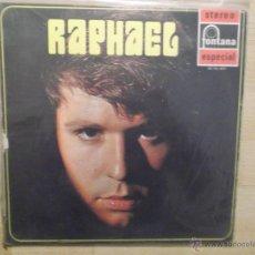 Discos de vinilo: RAPHAEL - TE VOY A CONTAR MI VIDA - 1969. Lote 46985438