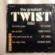 Discos de vinilo: VVAA BELTER - EP 1962 - THE CLOVERS, JOE TURNER, SOLOMON BURKE, TOMMY RIDGELY. Lote 46989567