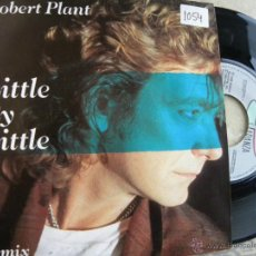 Discos de vinilo: ROBERT PLANT -LITTE BY LITTE -SINGLE 1985. Lote 46991957