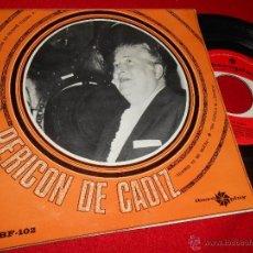 Discos de vinilo: PERICON DE CADIZ A TREINTA BARCOS DE GUERRA/MALAGUEÑA DOBLE DEL MELLIZO +2 EP 1966 IBEROPLAY. Lote 46998264