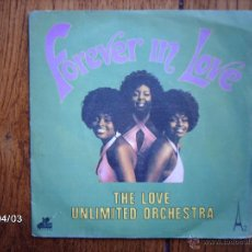 Discos de vinilo: THE LOVE UNLIMITED ORCHESTRA - FOREVER IN LOVE + ONLY YOU CAN MAKE ME BLUE . Lote 46998522