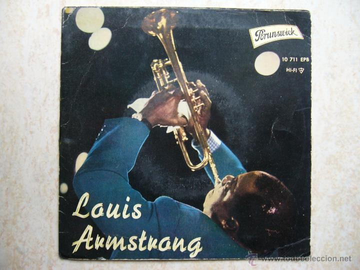 LOUIS ARMSTRONG (Música - Discos de Vinilo - EPs - Jazz, Jazz-Rock, Blues y R&B)