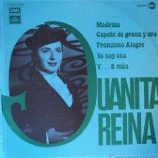 Discos de vinilo: JUANITA REINA - MADRINA - EDICIÓN DE 1971 DE ESPAÑA. Lote 47003143